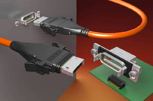 Sealed I/O Cable System features IP68 rating.