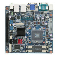 Mini ITX Motherboard supports Intel� Rapid Storage Technology.