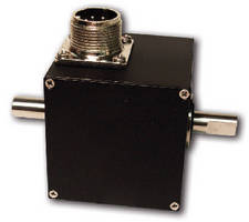 Rotary Encoders offer single channel or quadrature output.