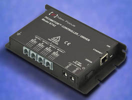 Quad-Channel Driver Module controls Open-Loop Picomotor.