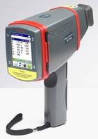 Handheld XRF Spectrometer analyzes precious metals.