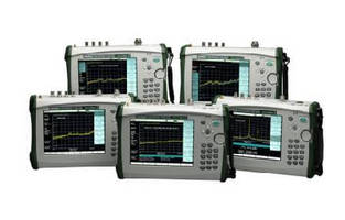 Handheld Spectrum Analyzers feature tracking generators.