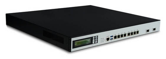 Network Appliance is designed for large bandwidth applications.