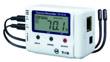 Temperature Data Logger supports anywhere, anytime access.