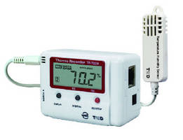 Temperature and Humidity Data Logger features onboard server.