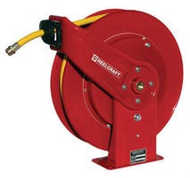 Hose Reels have heavy-duty wash down design.