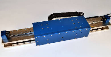 Linear Motor Positioning Stage features 12 in. stroke.