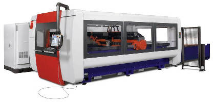 Laser Cutting System offers 4,400 and 6,000 W laser options.