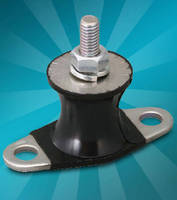 Soft Rubber Mountings isolate light loads.