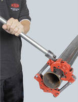 Pipe Cutters come in sizes for large and small diameters.