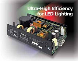 AC-DC Switching Power Supplies suit LED lighting applications.