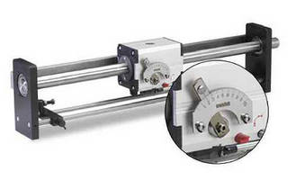 Zero Backlash Linear Drives offer adjustable pitch.