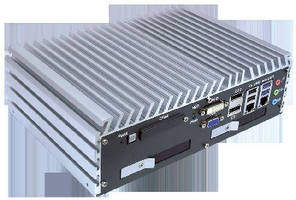 Fanless Embedded Controller operates from -25 to +70°C.