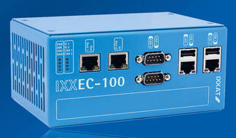 Flexible EtherCAT Master Solution supports DIN rail mounting.
