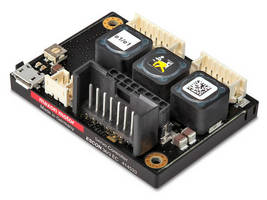 Four-Quadrant PWM Servo Controller delivers 95% efficiency.