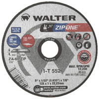 Cut-Off Wheel features true 1 mm thickness.