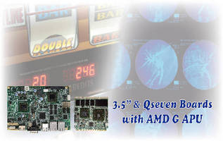Embedded Boards target graphic processing applications.