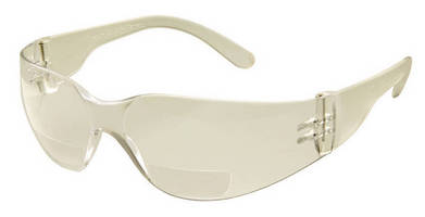 Bifocal Safety Eyewear provide impact protection, magnification.