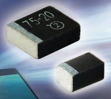 Solid Tantalum Chip Capacitors have low-profile design.