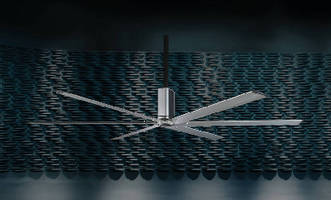 HVLS Fans target high-end commercial applications.