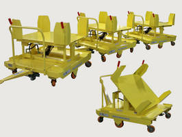 Hydraulic Tilt Cart can also serve as flat deck dolly.