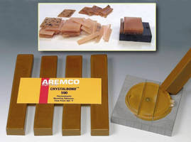 Thermoplastic Temporary Mounting Adhesive withstands high heat.
