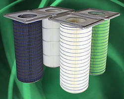 Dust Collector Filter delivers MERV 15 efficiency.