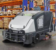 Industrial Floor Sweeper-Scrubber is powered by fuel cell.