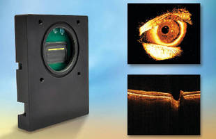 Linescan Camera supports 3-D optical coherence tomography.