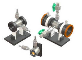High Vacuum Gas Cells suit specialty gas analysis.