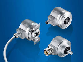 Optical Incremental Encoders ensure absolute accuracy.
