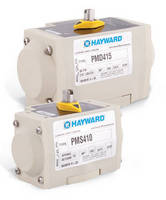 GF-PP Pneumatic Actuators are suited for corrosive installations.