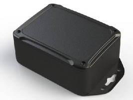 ABS Electronics Enclosure  measures 4.50 x 3.38 x 1.85 in.