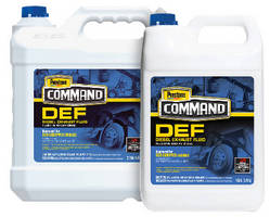 Diesel Exhaust Fluid works with all SCR-equipped diesel engines.