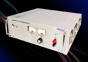 AC/DC Power Supplies provide wide output adjustability.