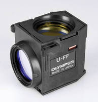 Fluorescence Filter Cubes are pre-mounted for proper alignment.