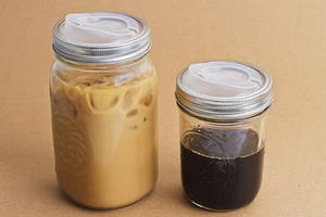 Drinking Lid turns mason jars into portable drinking containers.