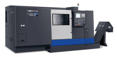 Horizontal Turning Center provides machining flexibility.