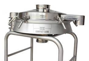Compact Sieve meets 3-A sanitary standards.