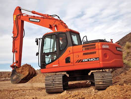 Diesel Excavators combine power and interim Tier 4 compliance.