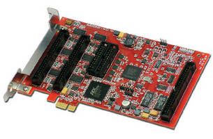 Analog and Digital I/O Board includes 3-stage watchdog timer.