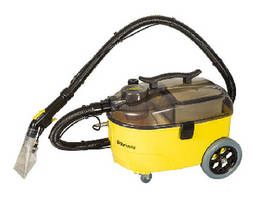 Portable Carpet Extractor spot cleans variety of areas.