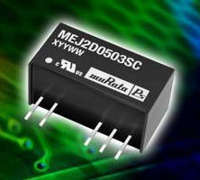 Miniature DC-DC Converters offer 5.2 kV isolation.