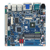 Mini ITX Motherboard supports multiple displays.