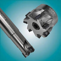 Cutters and Inserts feature fine pitch for smooth cutting.