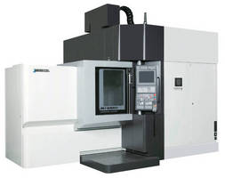 Five-Axis CNC VMC serves variety of production needs.