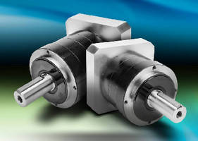 Precision Servo Gearboxes feature thread-in mounting style.