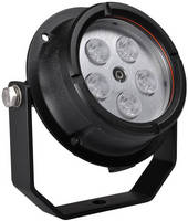 LED Floodlight combines durability, versatility, and 16 W draw.