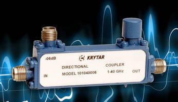 Compact Directional Couplers cover 1.0 GHz to 40.0 GHz range.