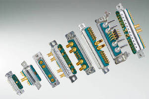 Combo D-subminiature Connectors feature non-magnetic design.